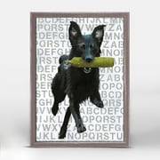 Ebern Designs 'Play Time' Framed Graphic Art Print on Canvas