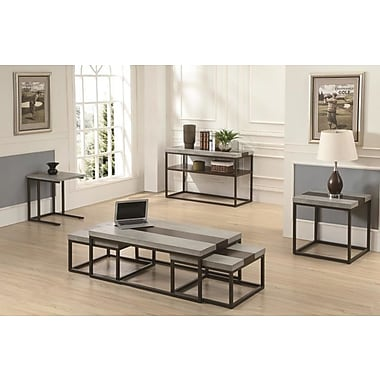 17 Stories Evgeniya 3 Piece Coffee Table Set