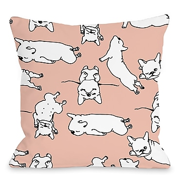 Ivy Bronx Leonore Throw Pillow; 16'' H x 16'' W