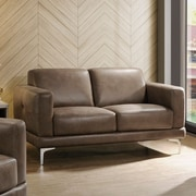 Ivy Bronx Madigan Leather Loveseat