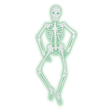 The Holiday Aisle Halloween Mr. Bones-A-Glo Skeleton