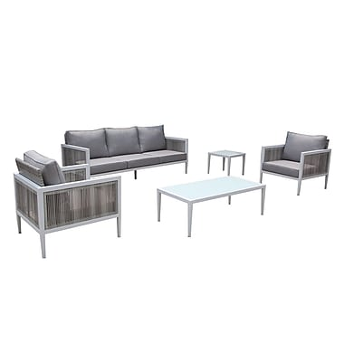 Orren Ellis Pacifica Arm Sectional Piece w/ Cushions