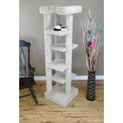 New Cat Condos 71'' New 5 level Cat Condo; Beige