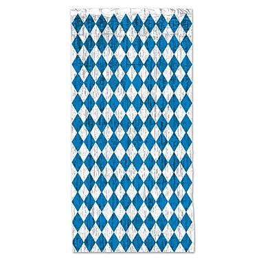 The Holiday Aisle Oktoberfest 1-Ply FR Gleam Single Curtain Panel