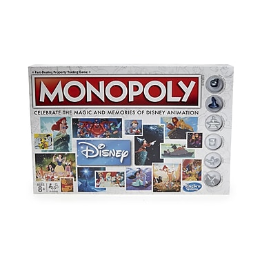 Walt Disney Animation Monopoly 80th Ann. Edition