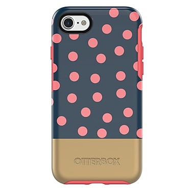 OtterBox Symmetry Series Cell Phone Case for iPhone 7, Dip Dot (77-54241)
