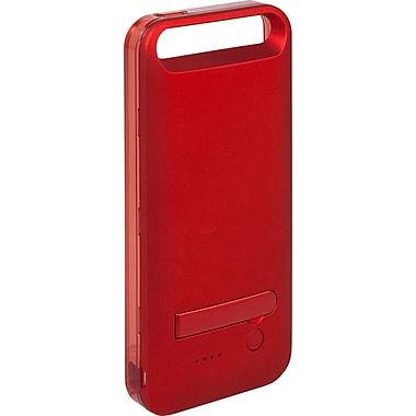 PurTek Battery Bumper Cell Phone Case for iPhone 5/5S, Red (IPHN5BTBCSRED)