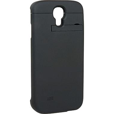 PurTek Battery Sleeve Cell Phone Case for Galaxy S4, Black (SAMSGS4BTBCSBLK)