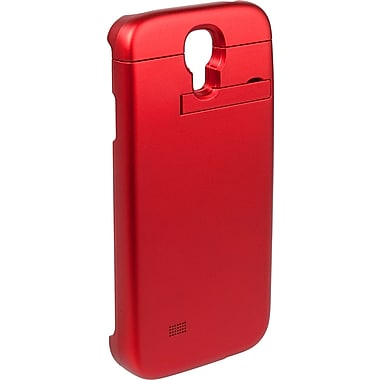 PurTek Battery Sleeve Cell Phone Case for Galaxy S4, Red (SAMSGS4BTBCSRED)