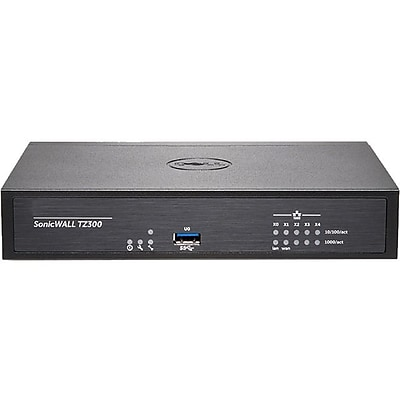 SonicWall TZ300 Network Security/Firewall Appliance (01-SSC-1743)