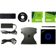 Zotac ZBOX M ZBOX-MI526-U Desktop Computer, Intel Core i3 (7th Gen) i3-7100U 2.40 GHz DDR4 SDRAM, Mini PC (ZBOX-MI526-U)