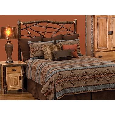 Loon Peak Raymond Geometric Bedspread; King