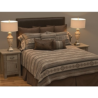 Loon Peak Silas Deluxe Quilt/Coverlet Set; California King