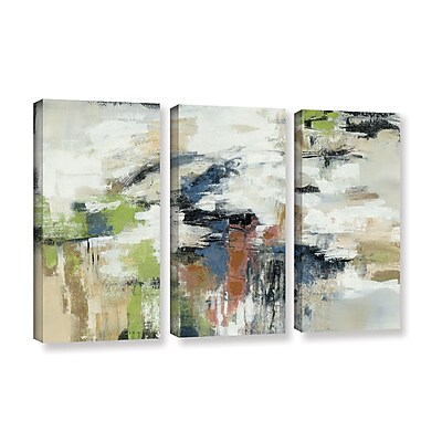 Ivy Bronx Highline View 3 Piece Set Painting Print on Wrapped Canvas; 24'' H x 36'' W x 2'' D