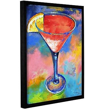 Ivy Bronx Pink Martini Framed Painting Print; 10'' H x 8'' W x 2'' D