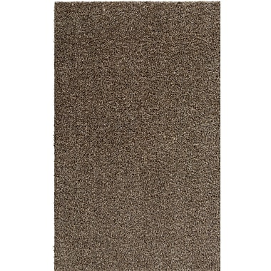 Ivy Bronx Dulcia Solid Gray Indoor/Outdoor Area Rug; 5' x 7'