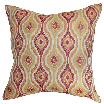 Corrigan Studio Damien Ikat Cotton Throw Pillow Cover