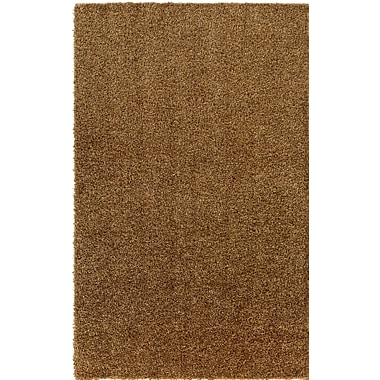 Ivy Bronx Dulcia Brown Indoor/Outdoor Area Rug; 6' x 9'