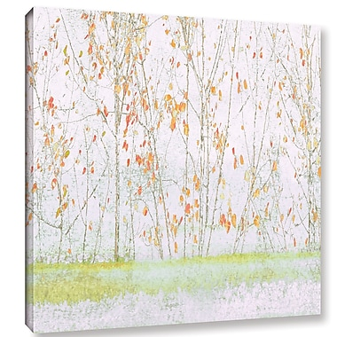 Ivy Bronx Lagon I' Painting Print on Wrapped Canvas; 14'' H x 14'' W x 2'' D