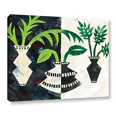 Ivy Bronx Pretty Palms V Graphic Art on Wrapped Canvas; 36'' H x 48'' W x 2'' D