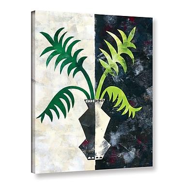 Ivy Bronx Pretty Palms IV Graphic Art on Wrapped Canvas; 18'' H x 14'' W x 2'' D