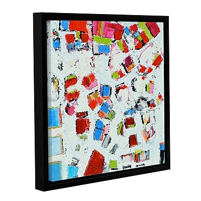 Ivy Bronx View From Above Framed Painting Print on Wrapped Canvas; 36'' H x 36'' W x 2'' D
