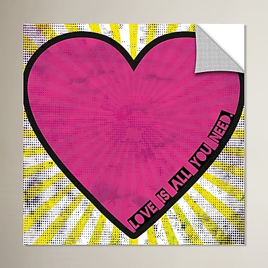 Ivy Bronx All You Need is Love Graphic Art; 24'' H x 24'' W x 0.1'' D