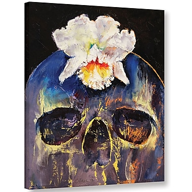 Ivy Bronx Voodoo Skull Painting Print on Wrapped Canvas; 48'' H x 36'' W x 2'' D