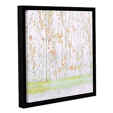 Ivy Bronx Lagon I' Framed Painting Print; 36'' H x 36'' W x 2'' D