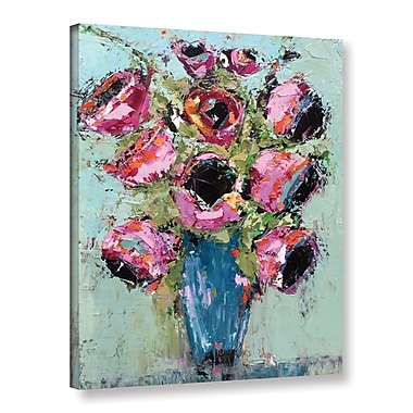 Ivy Bronx Bright Bouquet Painting Print on Wrapped Canvas; 24'' H x 18'' W x 2'' D