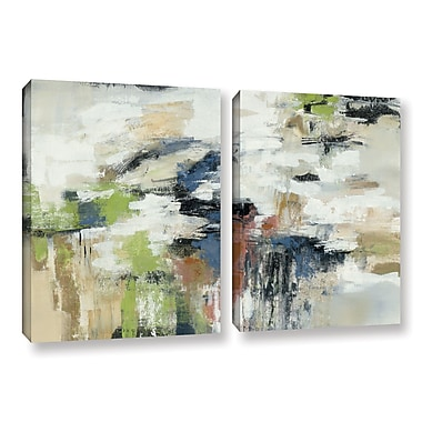 Ivy Bronx Highline View 2 Piece Painting Print on Wrapped Canvas Set; 32'' H x 48'' W x 2'' D