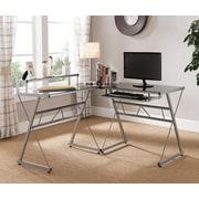 Latitude Run Aden Keyboard Tray L-Shape Writing Desk