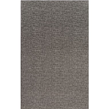 Williston Forge Braelyn Contemporary Gray Indoor/Outdoor Area Rug; 12' x 18'