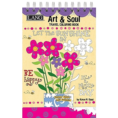 Lang Art and Soul Travel Coloring Book