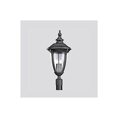 Alcott Hill Triplehorn 1-Light Lantern Head in Black