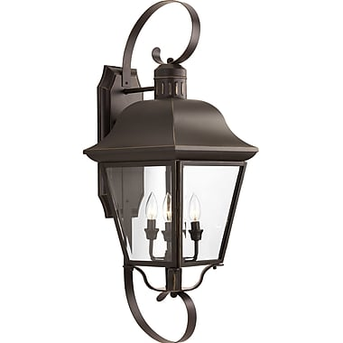 Alcott Hill Triplehorn 4-Light Outdoor Wall Lantern