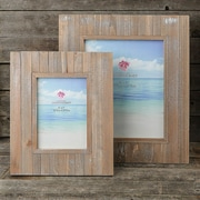 Highland Dunes 2 Piece Distressed Wood Wide Border Picture Frame Set