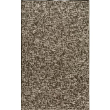 Ivy Bronx Cecilia Brown Indoor/Outdoor Area Rug; Round 8'
