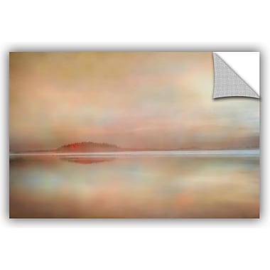 Ivy Bronx Landscape Sunset Graphic Art; 16'' H x 24'' W x 0.1'' D