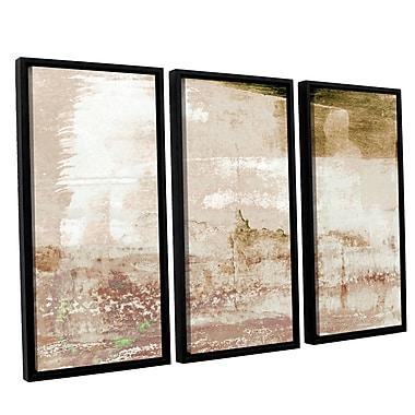 Ivy Bronx Statistics XII' 3 Piece Framed Painting Print Set; 36'' H x 54'' W x 2'' D