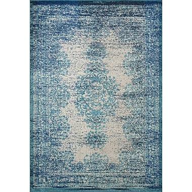 Mistana Colmar-Berg Vintage Blue Area Rug; 5'3'' x 7'7''