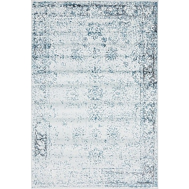 Mistana Brandt Light Blue Area Rug; 8' x 10'