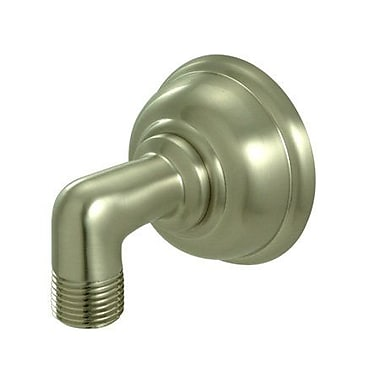 Kingston Brass Brass Supply Elbow; Satin Nickel