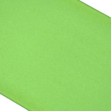 Latitude Run Catanzaro Polyester Table Runner; Kiwi Green