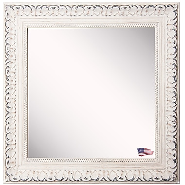 Mistana Square French Victorian Wall Mirror; 35.5'' W X 35.5'' H