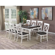 Breakwater Bay Kassidy X-Back Solid Wood Dining Chair