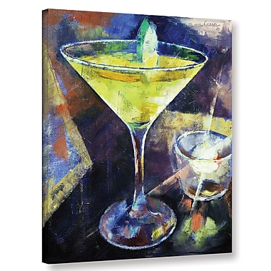 Ivy Bronx Appletini Painting Print on Wrapped Canvas; 18'' H x 14'' W x 2'' D