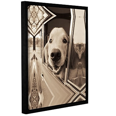 Ivy Bronx Are We There Yet Framed Photographic Print on Wrapped Canvas; 18'' H x 14'' W x 2'' D