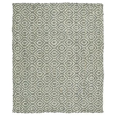 Mistana Carolus Hand-Loomed Grey Area Rug; 5' x 7'6''