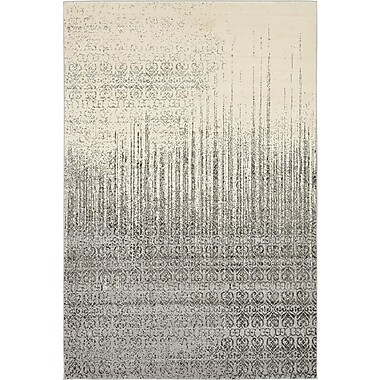 Mistana Deniece Gray Area Rug; 6' x 9'
